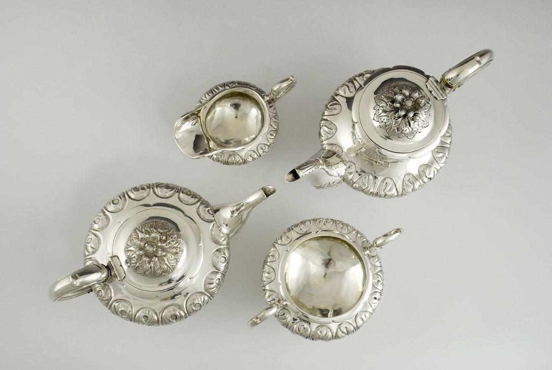 Angielski serwis do kawy i herbaty z czasu panowania króla Williama IV, Londyn
